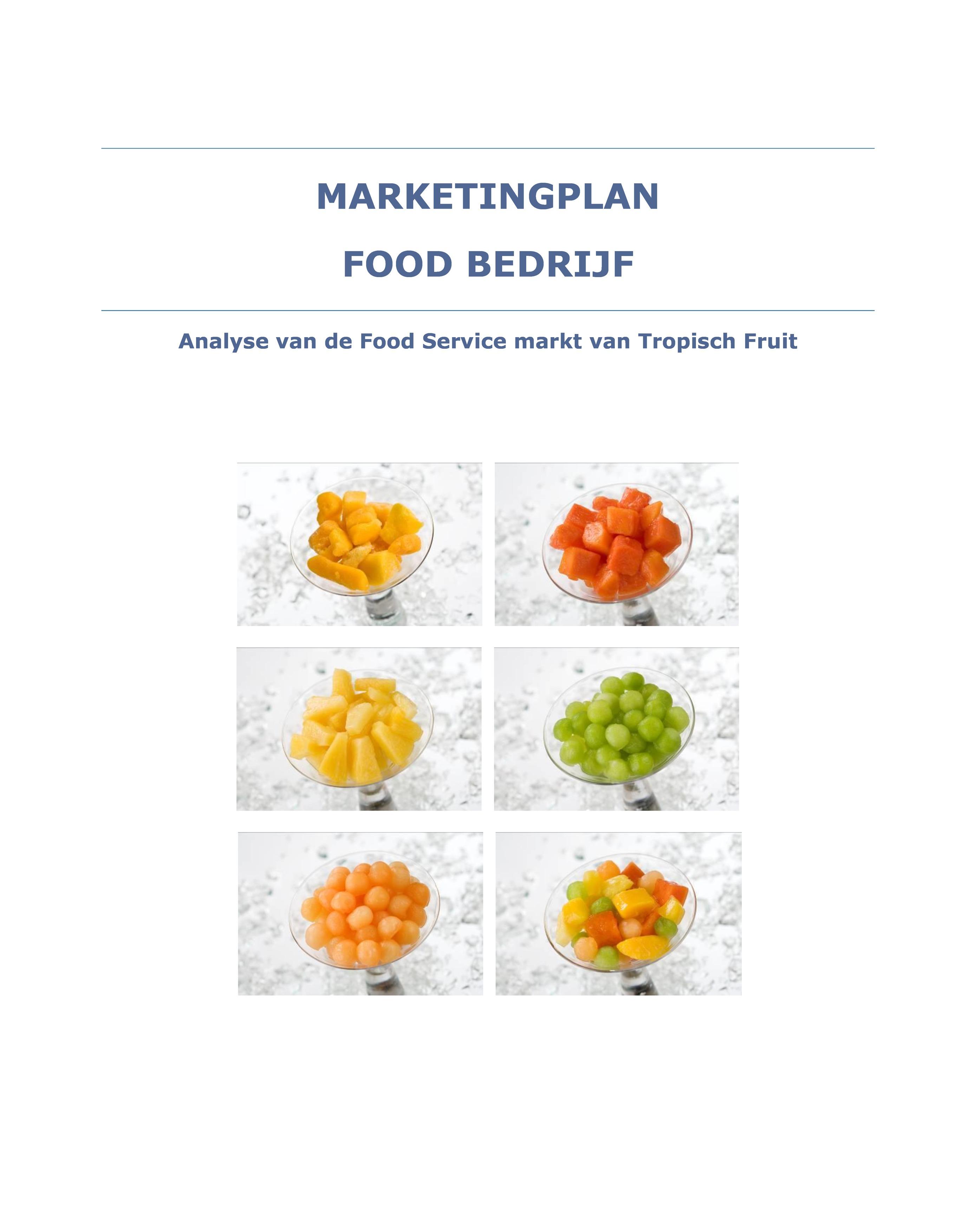 Portfolio - Marketingplan Fruit