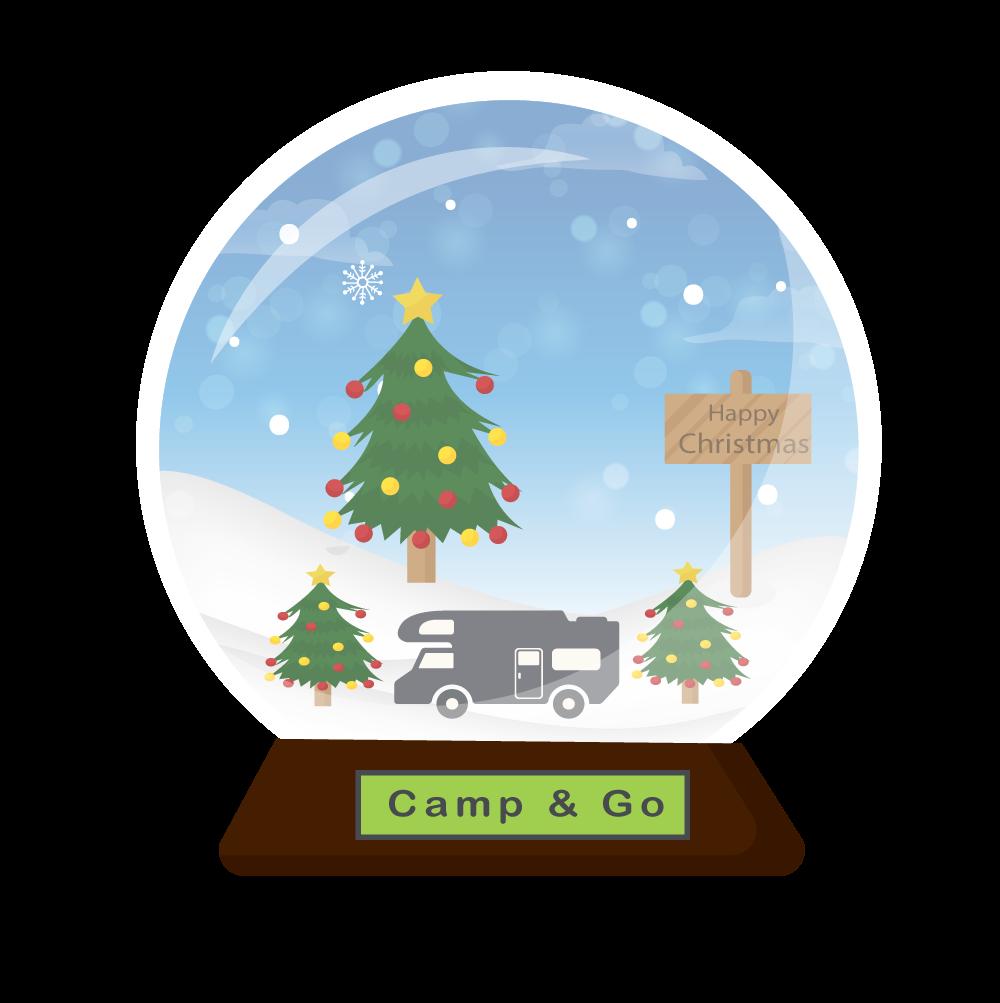 Portfolio - Digitale Kerstkaart Camperverhuur